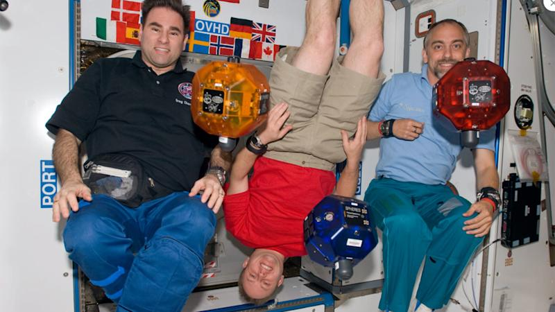 Richard Garriott en la Estación Espacial Internacional.