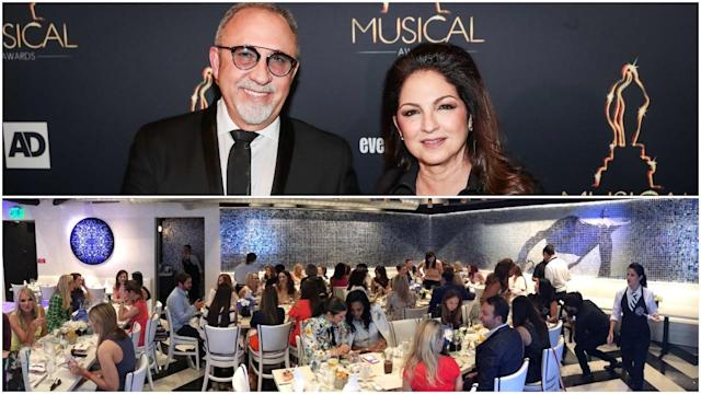 "<p>Cuban-American singer-songwriter Gloria Estafan owns sophisticated Cuban restaurant <a href=""http://www.estefankitchen.com/"" rel=""nofollow noopener"" target=""_blank"" data-ylk=""slk:Estafan Kitchen"" class=""link rapid-noclick-resp"">Estafan Kitchen</a> in Miami's Design District with her husband Emilio. The eatery offers bites, small plates and cocktails as well as substantial dinner fare accompanied by live music. <br>(Canadian Press/Twitter) </p>"