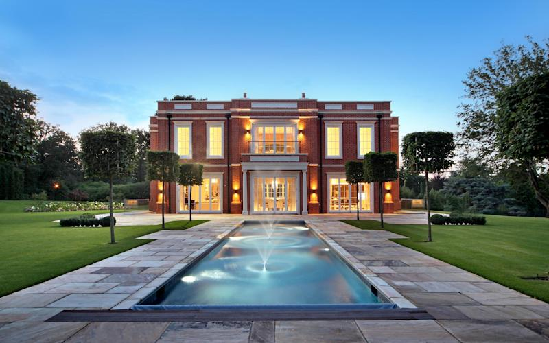 A pool designed by Octagon Bespoke