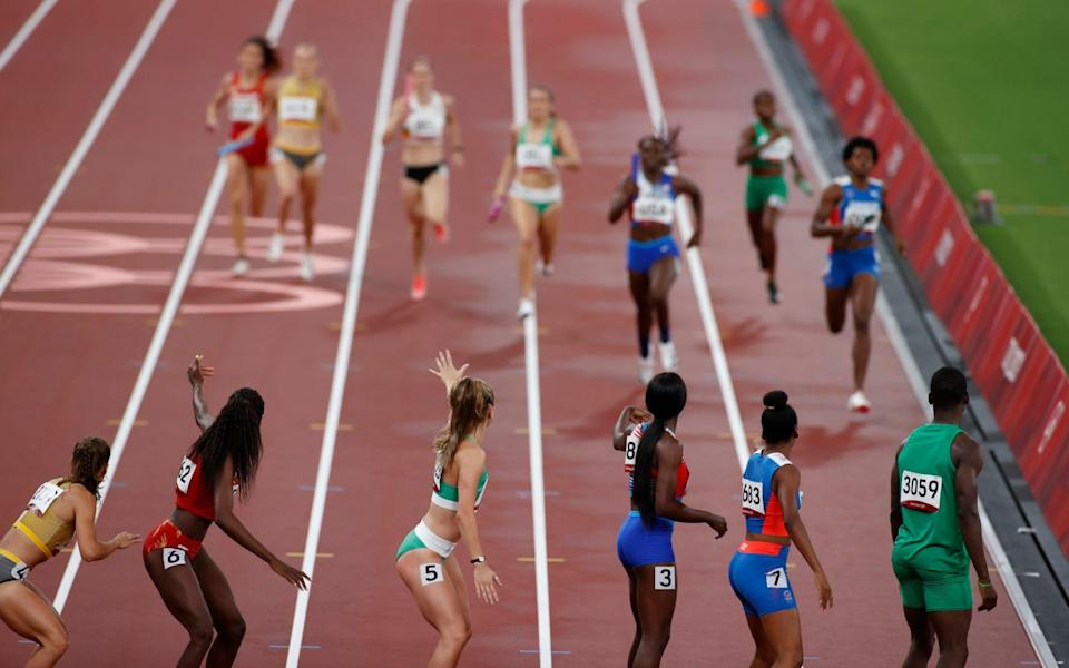 Mixed relays - REUTERS/Phil Noble