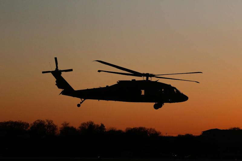 Army, DC Guard Investigating After Military Helicopters Buzz Protesters in DC