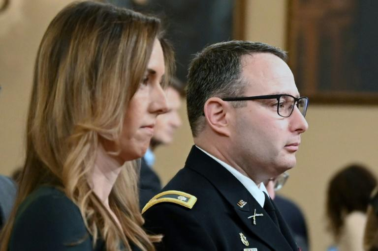 National Security Council Ukraine expert Lieutenant Colonel Alexander Vindman and foreign service officer Jennifer Williams, an advisor to Vice President Mike Pence, provided testimony to the House of Representatives impeachment inquiry