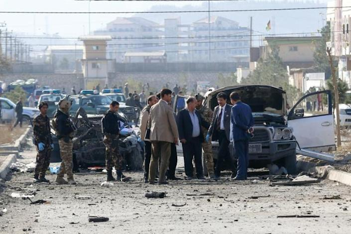 There was no immediate claim of responsibility for the attack (AFP Photo/STR)