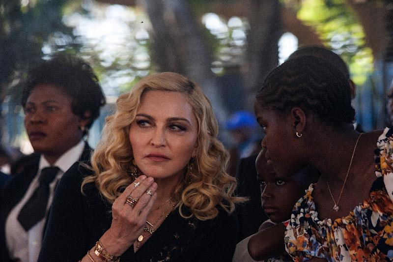 Madonna's adoption of children in Malawi has caused tensions with the government in the past (AFP Photo/Amos Gumulira)