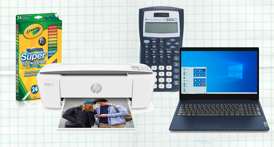 The Staples Back to School Sale is on now.