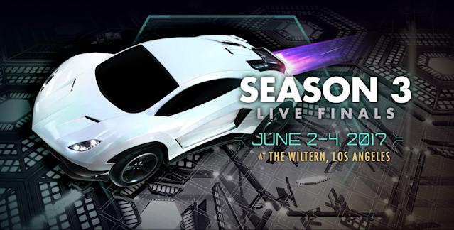 The RLCS comes to LA this June. (Psyonix)