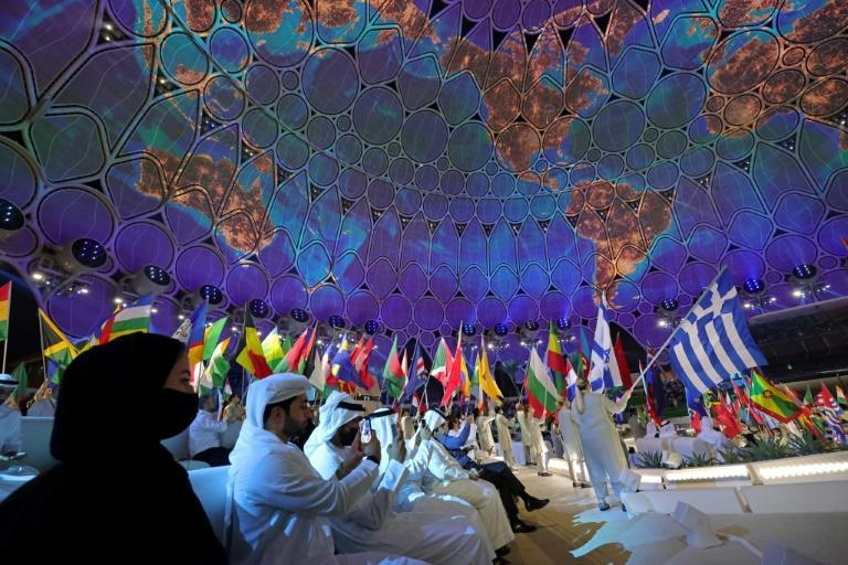 Expo 2020 was declared open at a lavish ceremony on Thursday (AFP/Giuseppe CACACE)