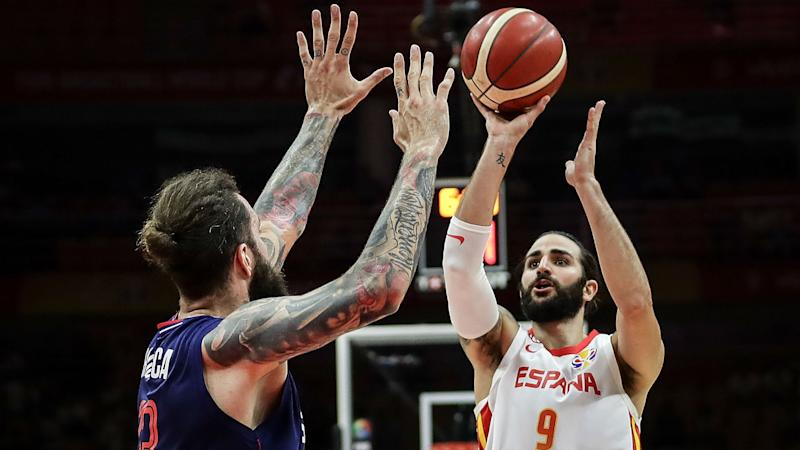 FIBA World Cup 2019: Argentina see off Serbia, Rubio makes history as Spain progress