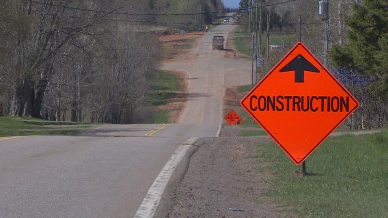 Construction underway at Oyster Bed roundabout