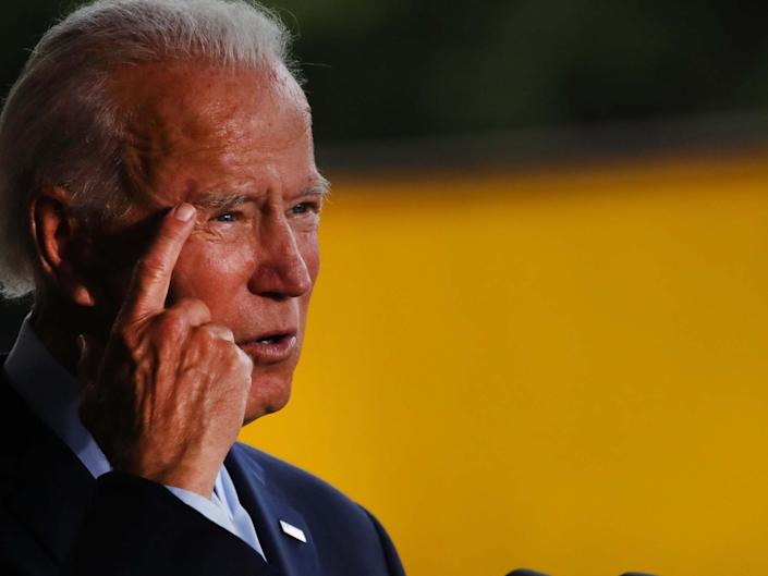Donald Trump claims Joe Biden could not pass cognitive test: Getty Images