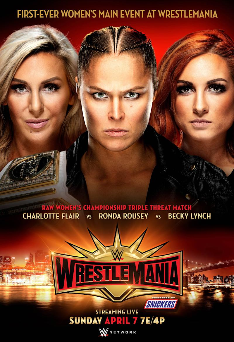 WrestleMania® to Feature First-Ever Women's Main Event