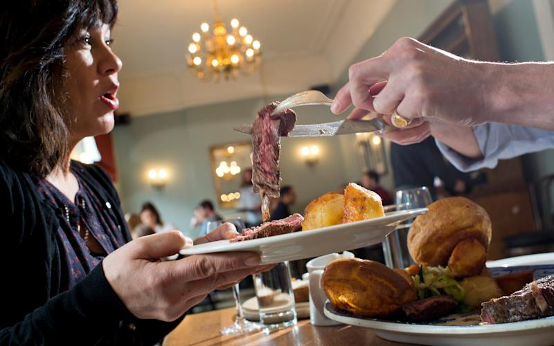 These days, you can have a roast whenever you like - David Rose/The Telegraph