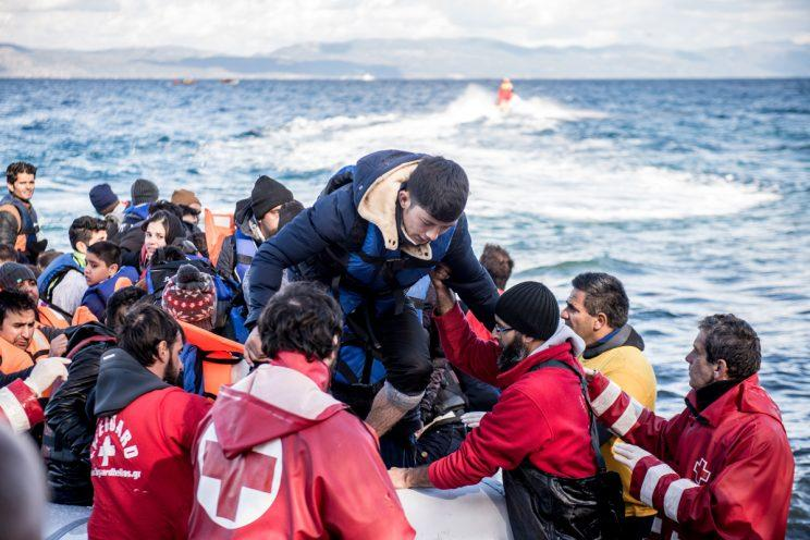 Search and rescue operations have already saved 6,000 refugees from drowning this year (Rex)