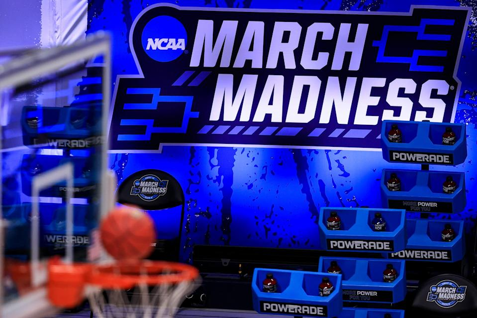 March Madness on March 27, 2021, in Indianapolis, Indiana.