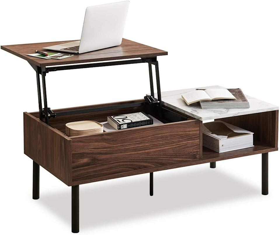 <p>How useful is this <span>Harmati Lift Top Coffee Table</span> ($150)? It's perfect if you're working from home or in a small space.</p>