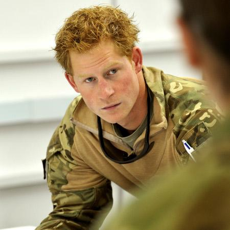 Prince Harry 'serious about girlfriend'