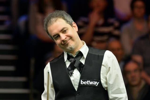 Anthony Hamilton has withdrawn from the World Snooker Championship for health reasons (Anna Gowthorpe/PA)
