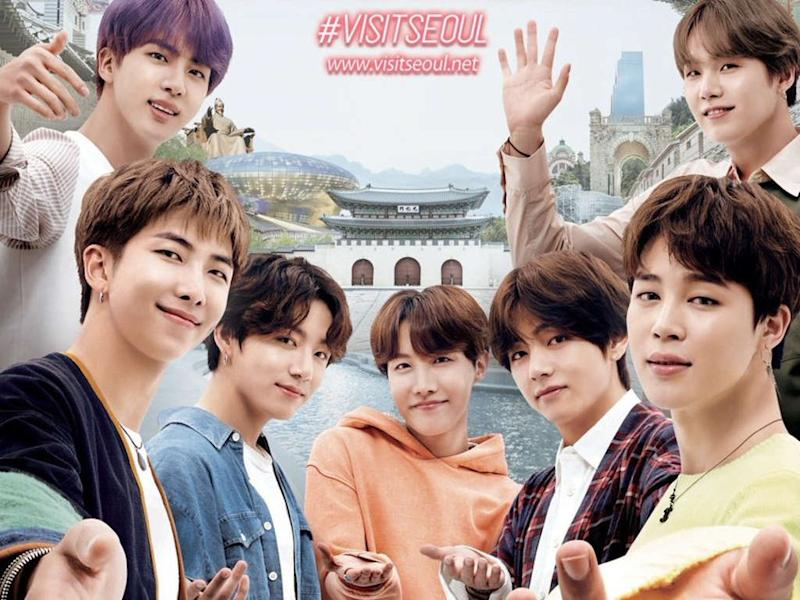 BTS named the Honorary Tourism Ambassadors of Seoul for the third consecutive year.