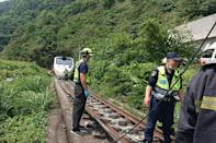 Friday's crash looks set to be one of Taiwan's worst railway accidents on record