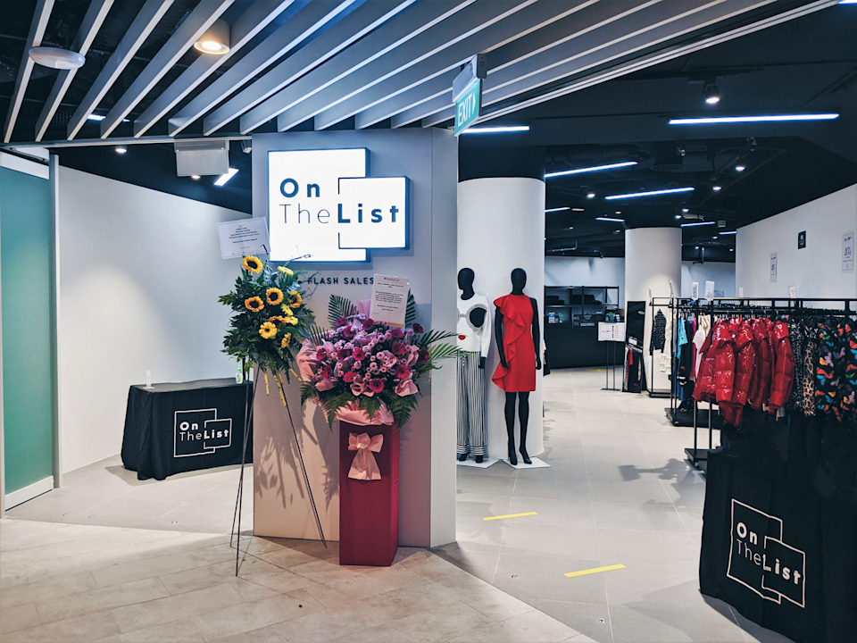 OnTheList showroom in Change Alley Mall. (PHOTO: OnTheList)
