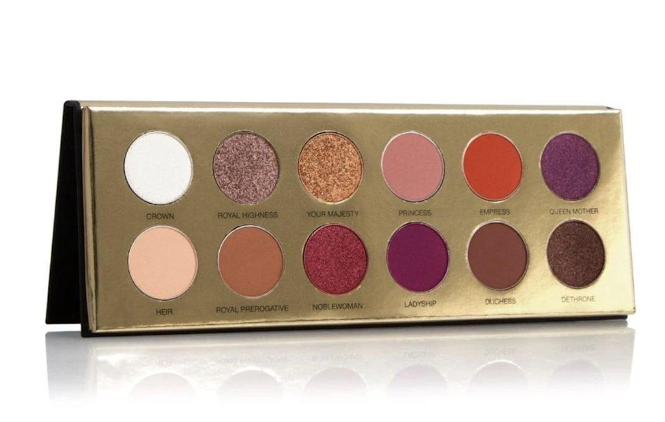 <p>Your BFF can create the ultimate Valentine's day look with this pretty <span>Coloured Raine Queen of Hearts Eyeshadow Palette</span> ($42).</p>