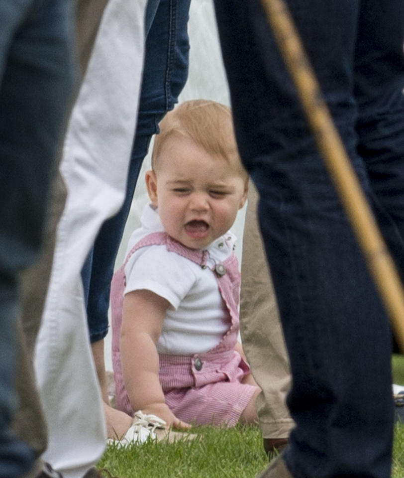 <p>Even from a young age, Prince George knew when he'd had enough. Source: Getty </p>