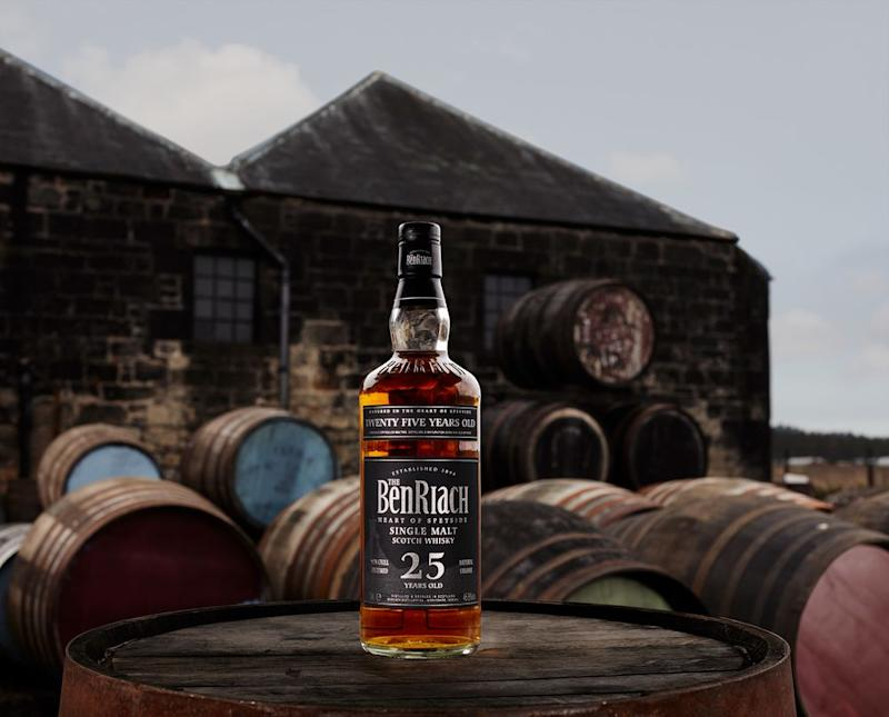 The 25-year-old BenRiach reached U.S. shelves for the first time last month. | Peter Dibdin info@peterdibdin.co