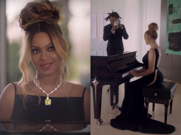 beyonce and jay z tiffany and co ad
