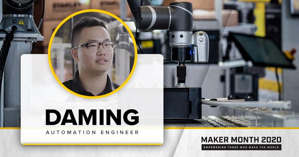Meet Our 31 Makers: Daming, Automation Engineer