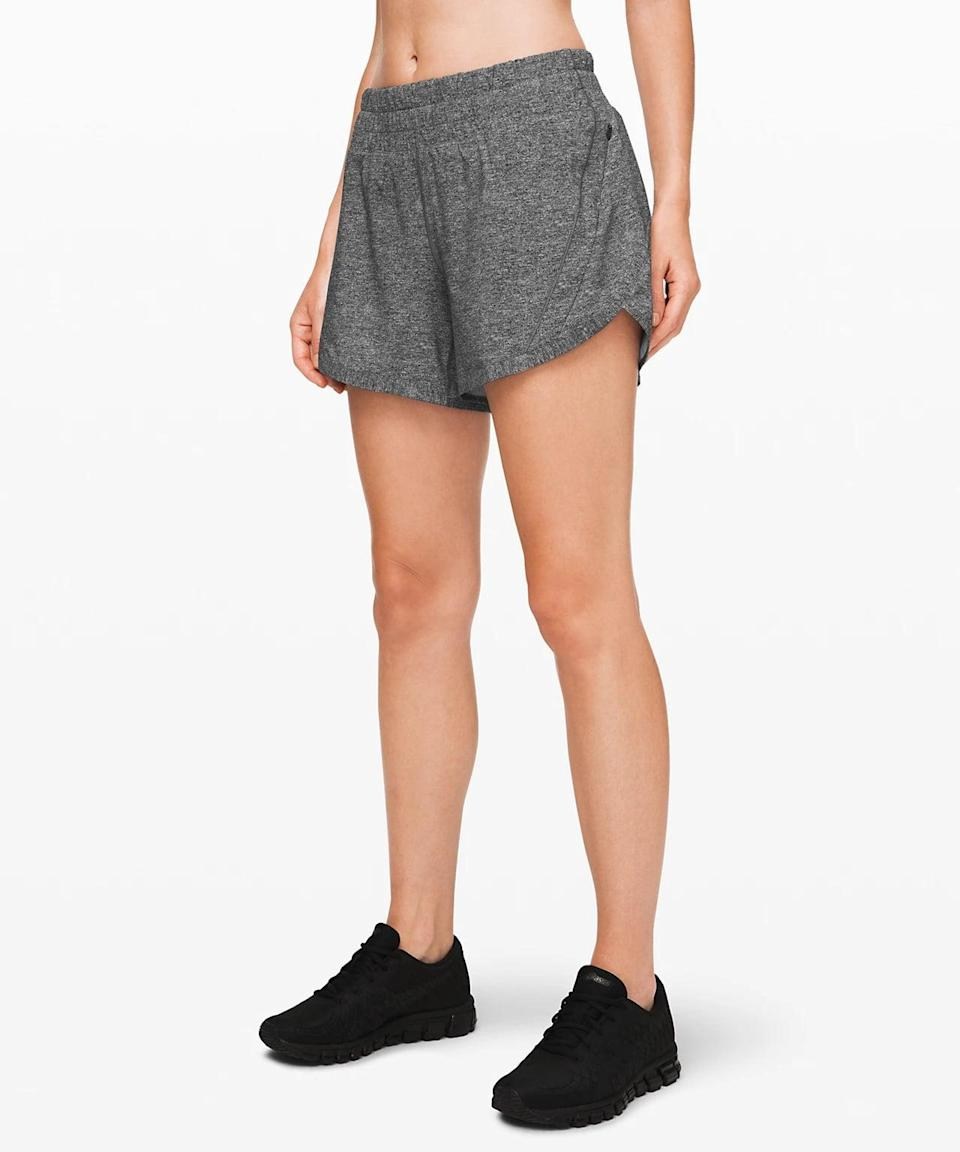 <p>These <span>Lululemon Track That Shorts</span> ($58) have more coverage and plenty of pockets.</p>