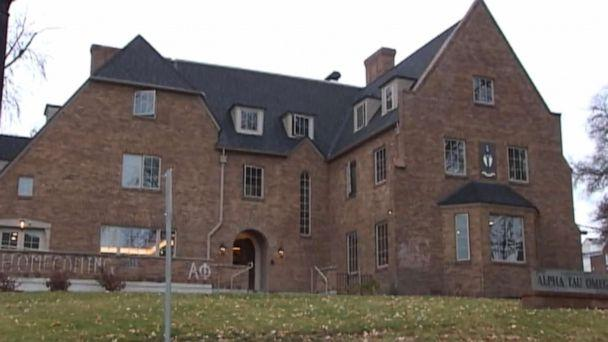 PHOTO: Alpha Tau Omega on the Washington State University campus. (KXLY)