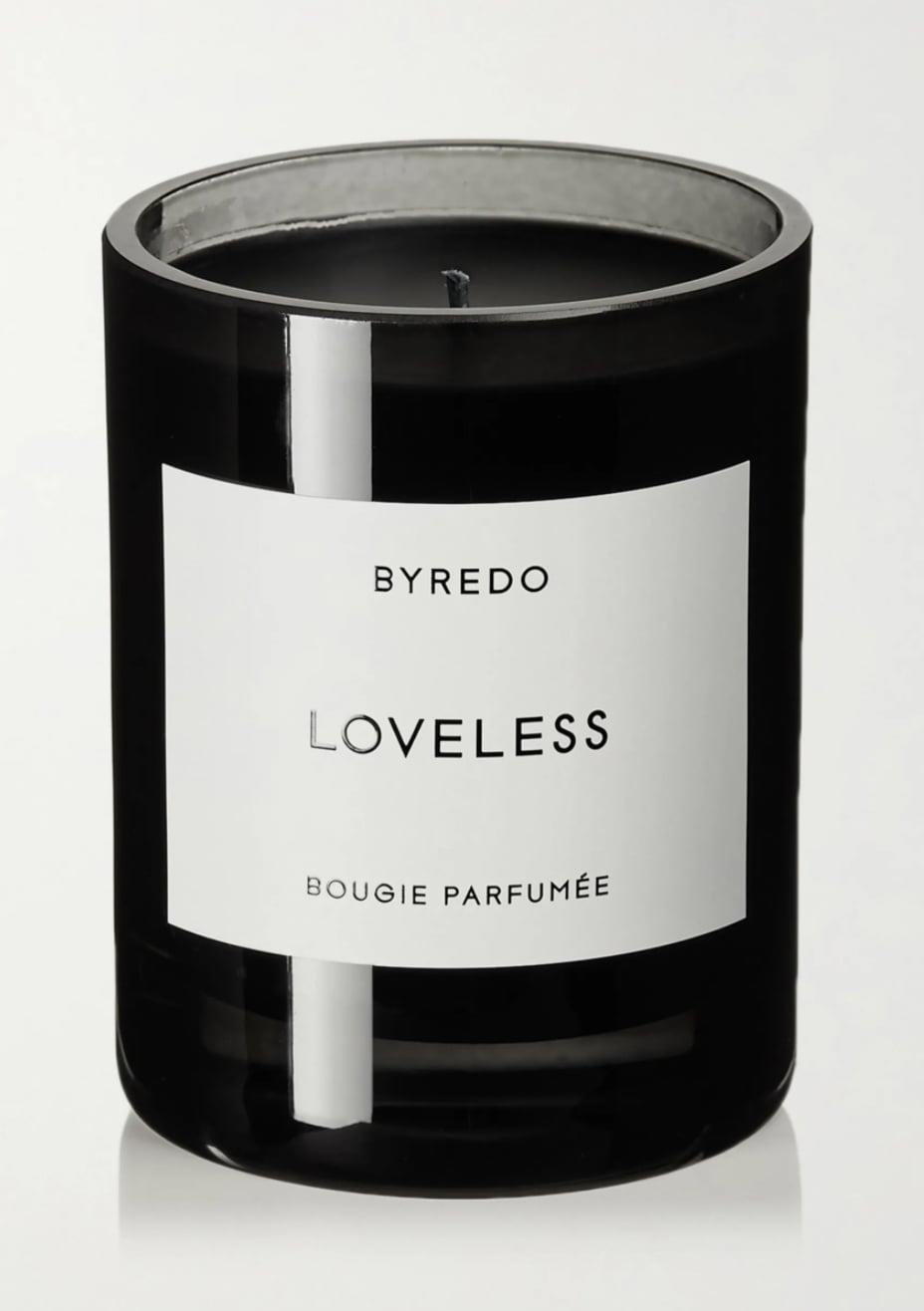 <p>This <span>Loveless Scented Candle</span> ($85) looks so luxurious.</p>