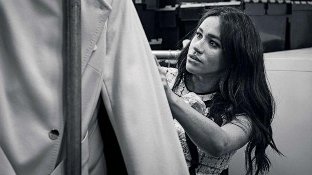 PHOTO: Meghan, Duchess of Sussex, patron of Smart Works, is pictured in the workroom of the Smart Works, London office in this undated handout image released by Kensington Palace, July 28, 2019. (SussexRoyal/PA Wire/Handout via Reuters)