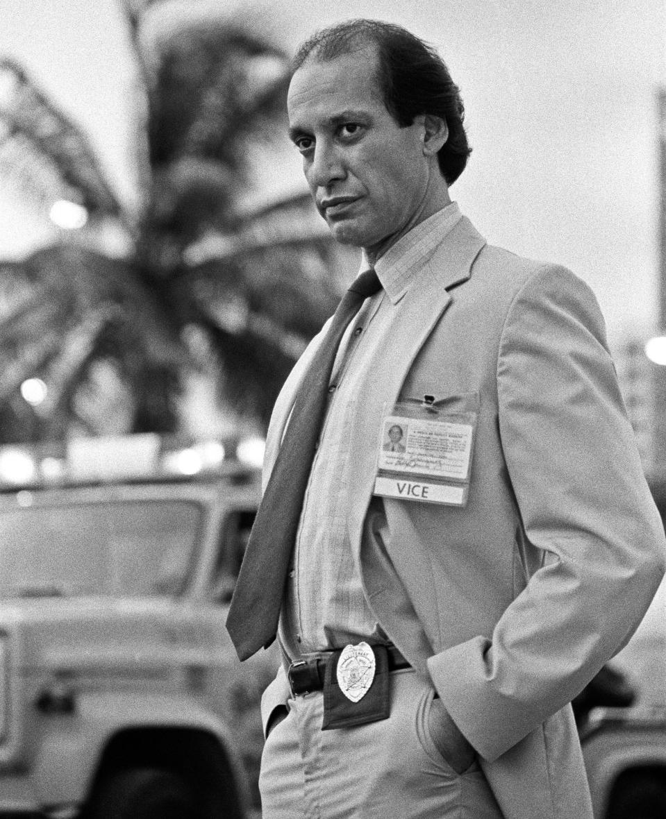 Image: Gregory Sierra in 'Miami Vice' (NBC / via Getty Images)