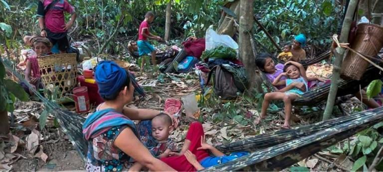The Myanmar military launched the first airstrikes in Karen state in 20 years, hours after a rebel group had seized a military base