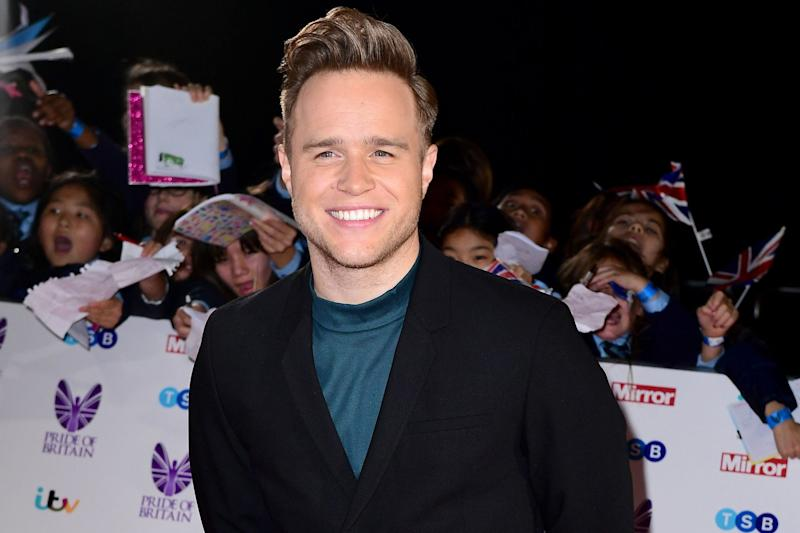 Teasing: Olly Murs has spoken out on Twitter: Ian West/PA