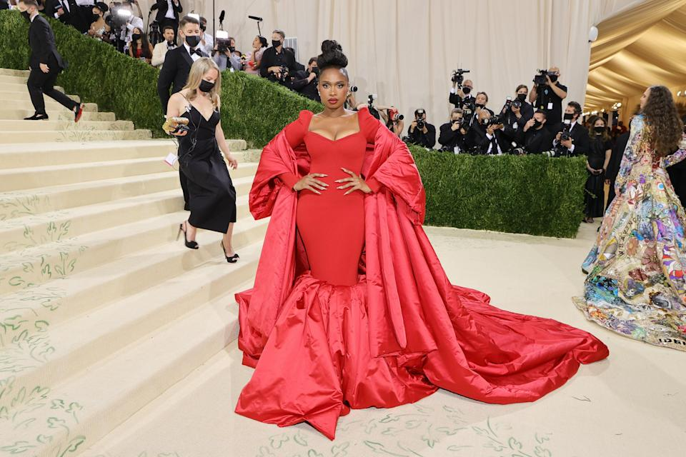 """<h1 class=""""title"""">Jennifer Hudson, The 2021 Met Gala Celebrating In America: A Lexicon Of Fashion - Arrivals</h1><cite class=""""credit"""">Getty</cite>"""
