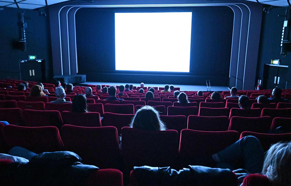 <p>The first weekend of cinema reopening saw bumper revenues </p> (AFP/Getty )