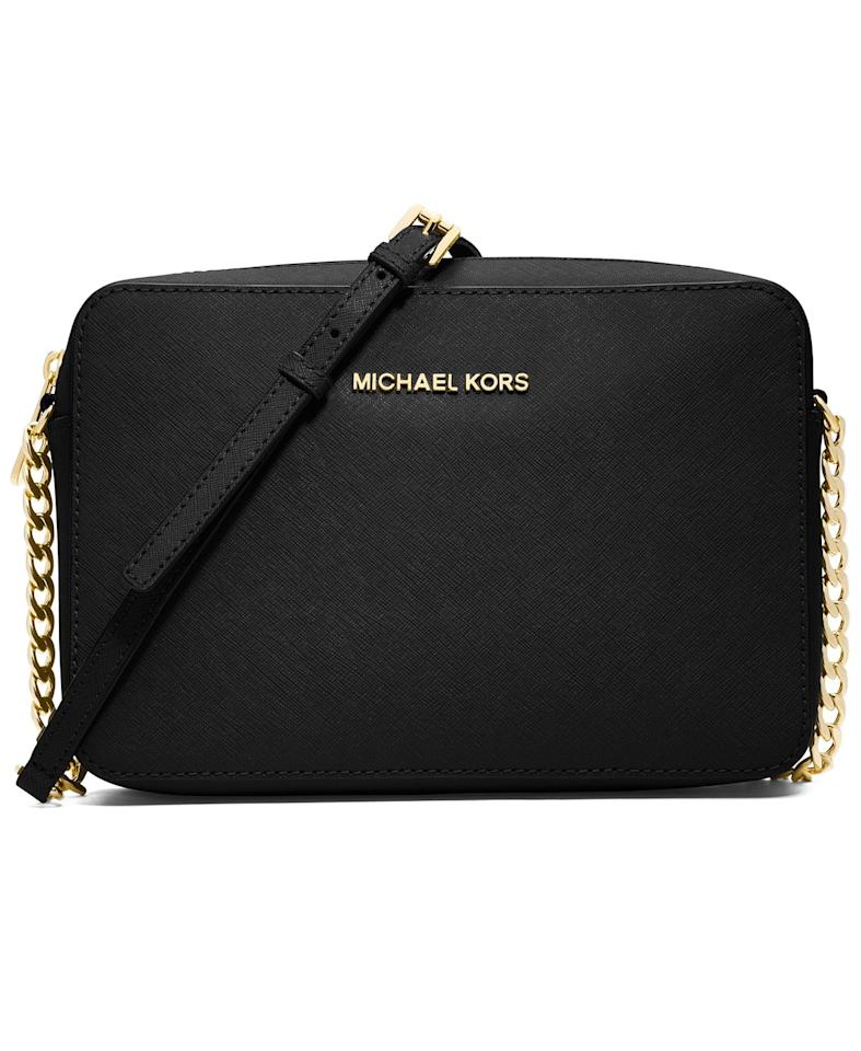 "<p>Get this <a href=""https://www.popsugar.com/buy/Michael-Kors-Jet-Set-East-West-Crossgrain-Leather-Crossbody-499164?p_name=Michael%20Kors%20Jet%20Set%20East%20West%20Crossgrain%20Leather%20Crossbody&retailer=macys.com&pid=499164&price=168&evar1=savvy%3Aus&evar9=46729336&evar98=https%3A%2F%2Fwww.popsugar.com%2Fphoto-gallery%2F46729336%2Fimage%2F46729431%2FMichael-Kors-Jet-Set-East-West-Crossgrain-Leather-Crossbody&list1=shopping%2Cgift%20guide%2Cgifts%20for%20her%2Cgifts%20for%20women%2Cmacys&prop13=api&pdata=1"" rel=""nofollow"" data-shoppable-link=""1"" target=""_blank"" class=""ga-track"" data-ga-category=""Related"" data-ga-label=""https://www.macys.com/shop/product/michael-michael-kors-jet-set-east-west-crossgrain-leather-crossbody?ID=4795809&amp;CategoryID=143743"" data-ga-action=""In-Line Links"">Michael Kors Jet Set East West Crossgrain Leather Crossbody</a> ($168) for the fashion girl.</p>"