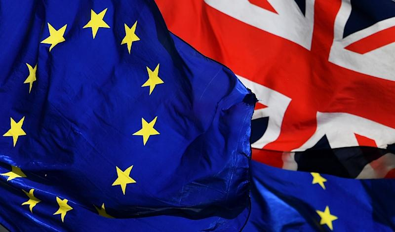 The European Commission warned that if Britain should crash out of the EU as early as April 12, that businesses -- as well as holidaymakers -- should prepare for major hassle at customs (AFP Photo/BEN STANSALL)