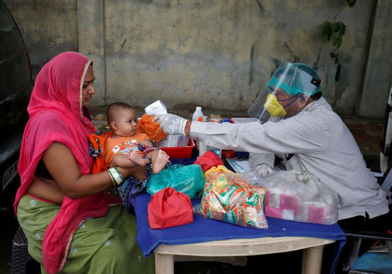 UN warns of dangerous drop in vaccinations during COVID pandemic
