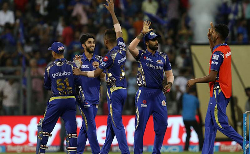 Mumbai Indians were not on the top of their game but the bowlers did a good job at the fag end of the match to pull things back for the team and gain those two important points to remain floating in the tournament. Sportzpics