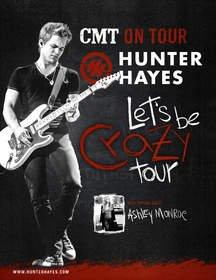 Hunter Hayes Headlines 12th Annual CMT on Tour: Hunter Hayes' Let's Be Crazy Tour