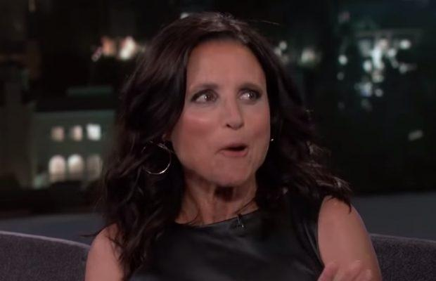 Julia Louis-Dreyfus reacts to Marianne Williamson's 'Seinfeld' debate reference
