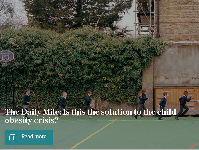 The Daily Mile: Is this the solution to the child obesity crisis?