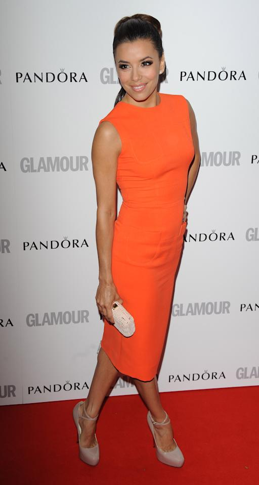 LONDON, UNITED KINGDOM - MAY 29: Eva Longoria attends Glamour Women of the Year Awards 2012 at Berkeley Square Gardens on May 29, 2012 in London, England. (Photo by Stuart Wilson/Getty Images)