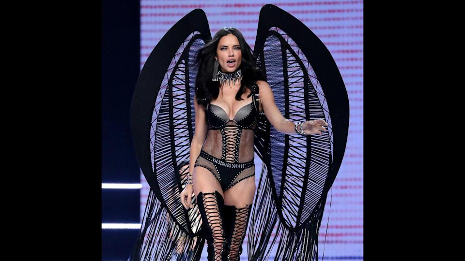 "<p>Adriana Lima has walked in the Victoria's Secret Fashion Show 18 times, and boasts the longest Angel career of any model. Lima has worn the Fantasy Bra three times — tied with Heidi Klum for most times modeling the coveted lingerie piece. And Victoria's Secret has paid her for her loyalty: Lima claimed the No. 4 spot on Forbes' 2017 list of world's highest-paid models with $10.5 million in earnings this year, the majority of which comes from the lingerie brand. The Brazilian model also has contracts with Sportmax and Marc Jacobs fragrances, and hosts Lifetime's ""American Beauty Star.""</p>"