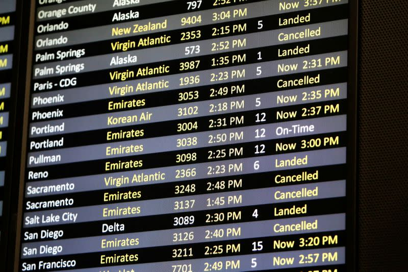 U.S. airlines face push-back in Congress on $50 billion bailout proposal