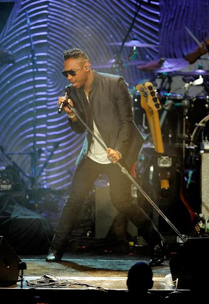 Miguel performs at the Clive Davis Pre-GRAMMY Gala on Saturday, Feb. 9, 2013 in Beverly Hills, Calif. (Photo by Chris Pizzello/Invision/AP)