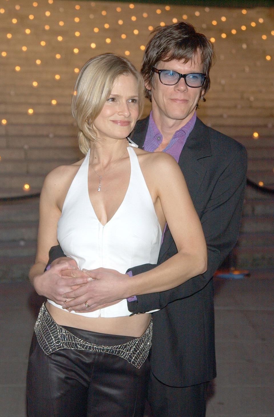 The pair at a Vanity Fair party to launch the Tribeca Film Festival.